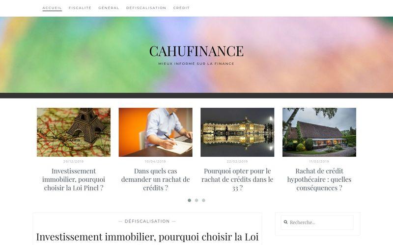 cahufinance - Mieux informé sur la finance